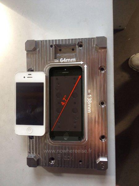 """Благодаря """"шпионским"""" фото стали известны размеры iPhone 6"""