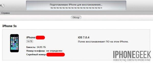 Прошивка iPhone: Как возбудить iPhone/iPad после iTunes? Как подновить iPhone согласно Wi-Fi?
