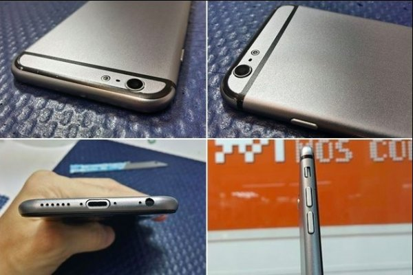 В сети появились снимки прототипа iPhone 6 с водонепроницаемым корпусом