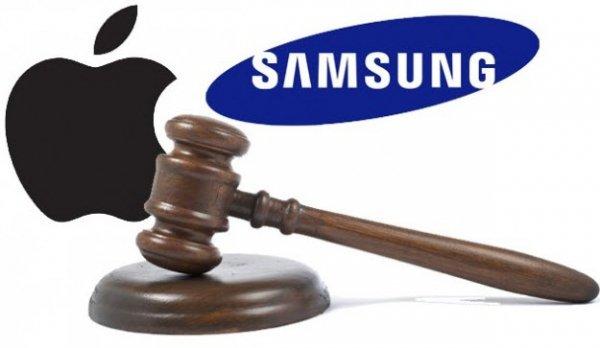 Apple хочет решать патентные вопросы с Samsung без суда