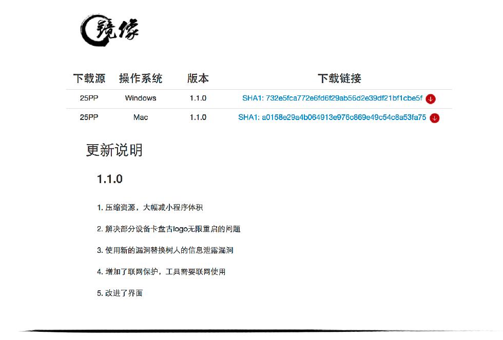 Изменения в Pangu v.1.1.0