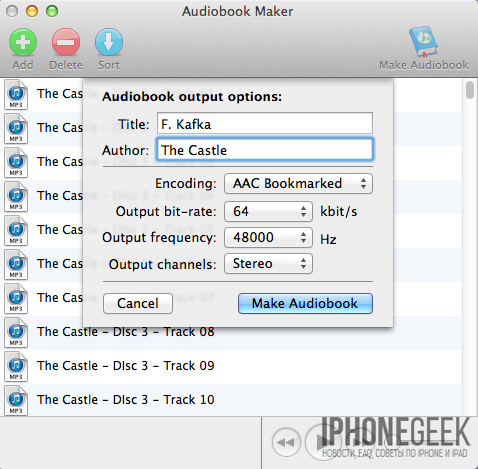 Audiobook Maker