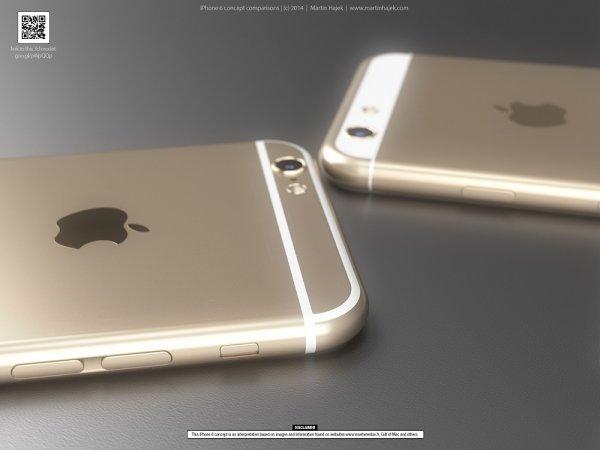 Концепт iPhone 6: два окончательных варианта смартфона