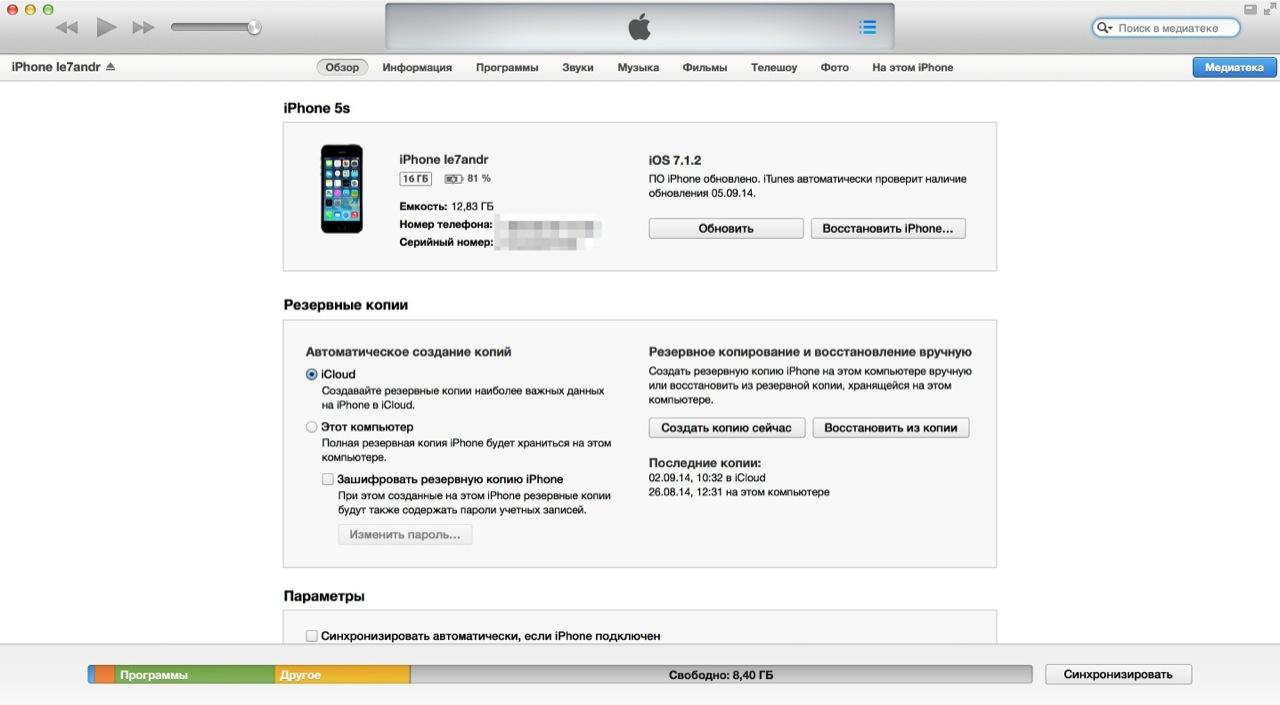 Заблокированный iPhone подключен к компьютеру которому разрешен к нему доступ