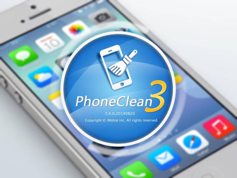 PhoneClean - смарт-очистка iPhone, iPod Touch и iPad от
