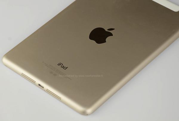 """Новый iPad Air выйдет в """"золотом"""" цвете"""