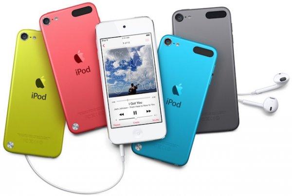 Apple представит iPod touch 6-го поколения следующей весной
