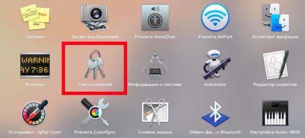 Как восстановить забытый пароль с помощью Связки ключей в OS X