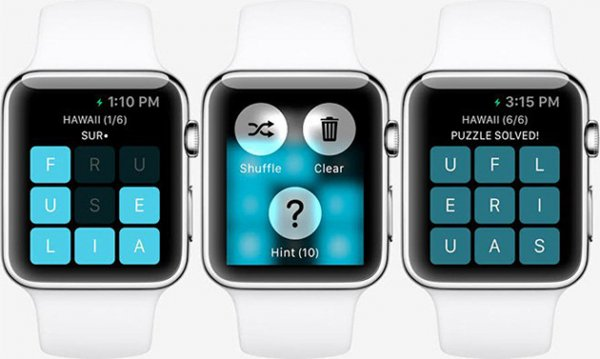 Разработчики представили первую игру для Apple Watch