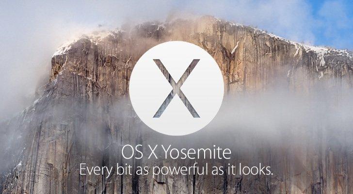 Возможность Mac OS X Yosemite