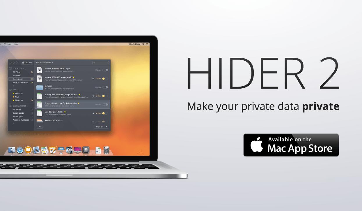Hider 2 для Mac OS X