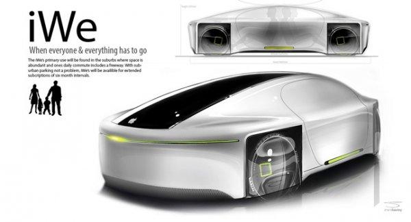 Будущее Apple — производство автомобилей?