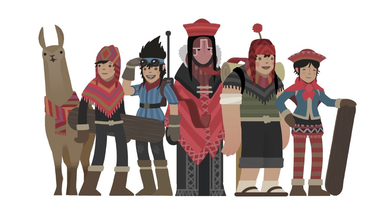 Команда в Alto's Adventures