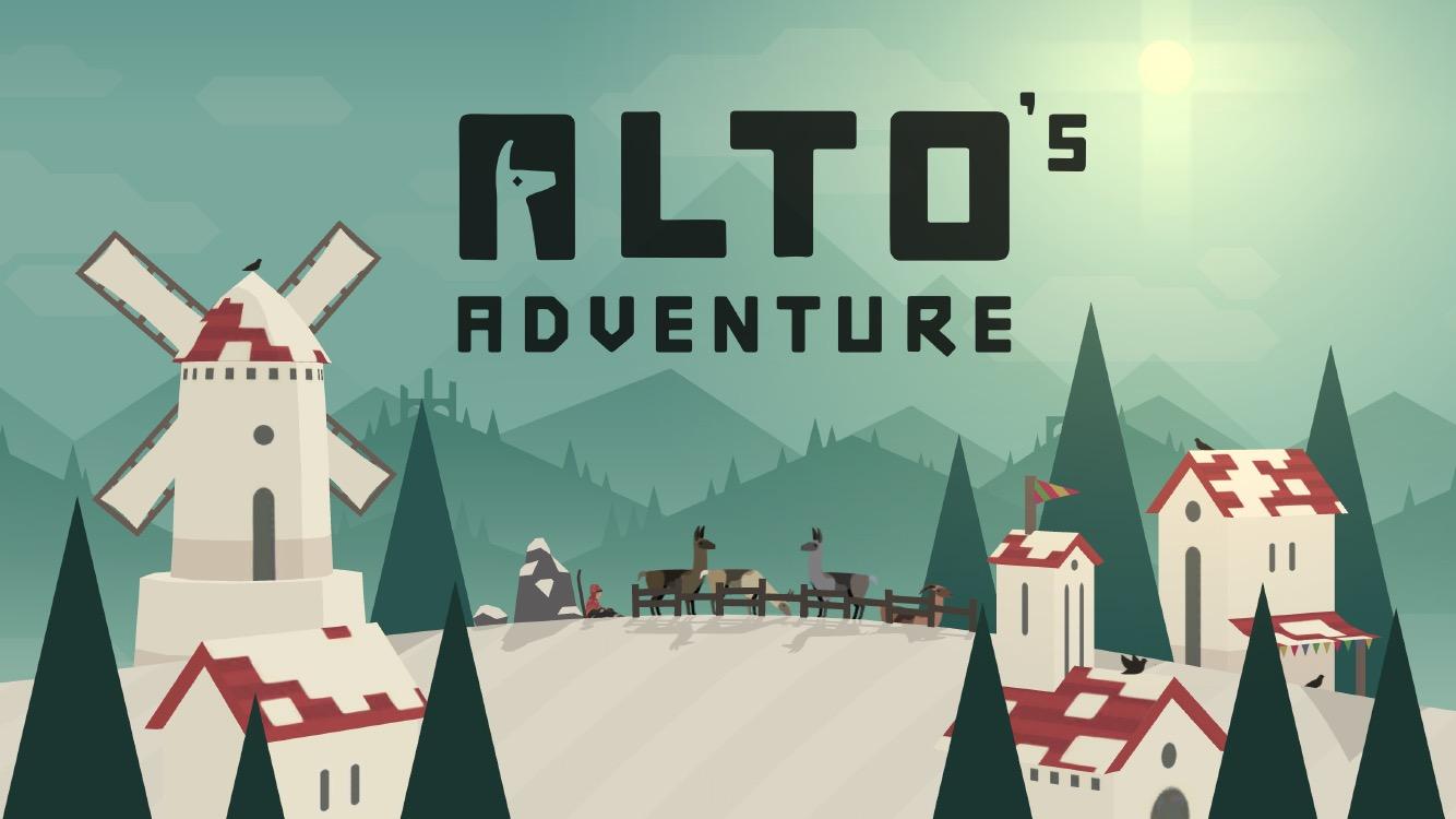 Начало Alto's Adventures