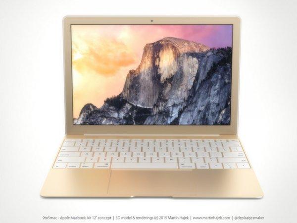 Продажи 12-дюймового MacBook Air Retina начнутся в апреле
