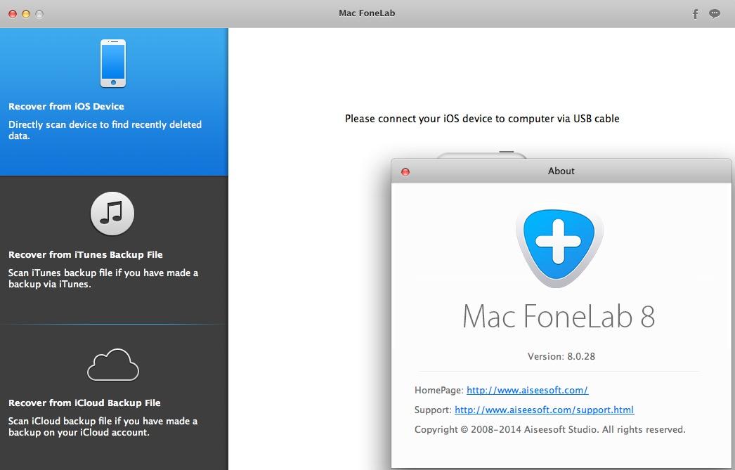 FoneLab - лучшая утилита для восстановления данных из iPhone и iPad