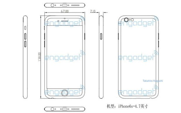 Схема iPhone 6s