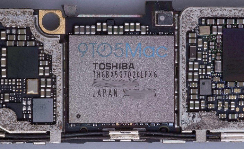 Память iPhone 6s