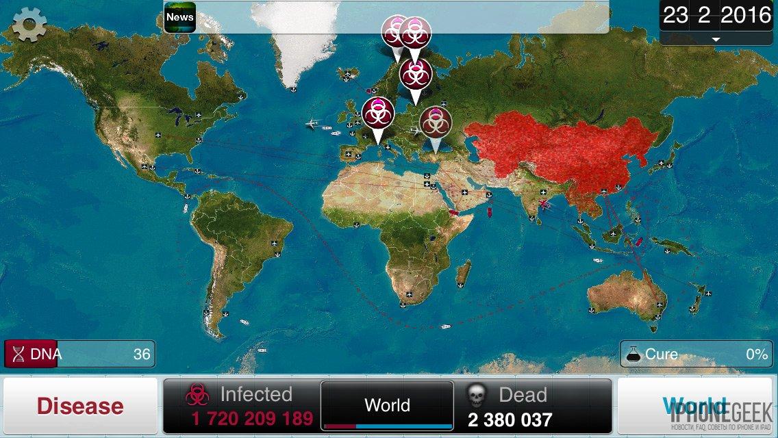 Обзор plague inc. 3