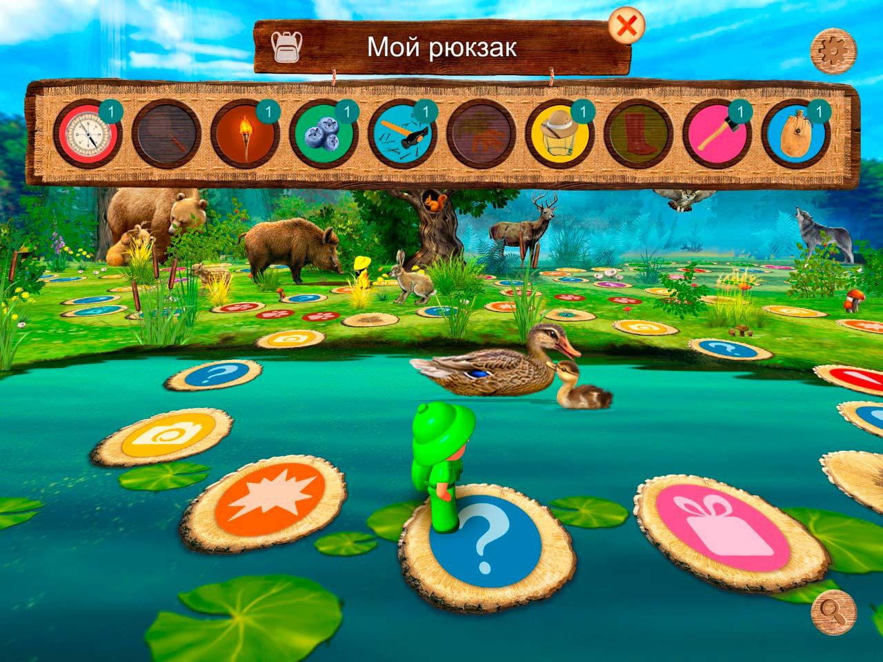Геймплей Forest Quest