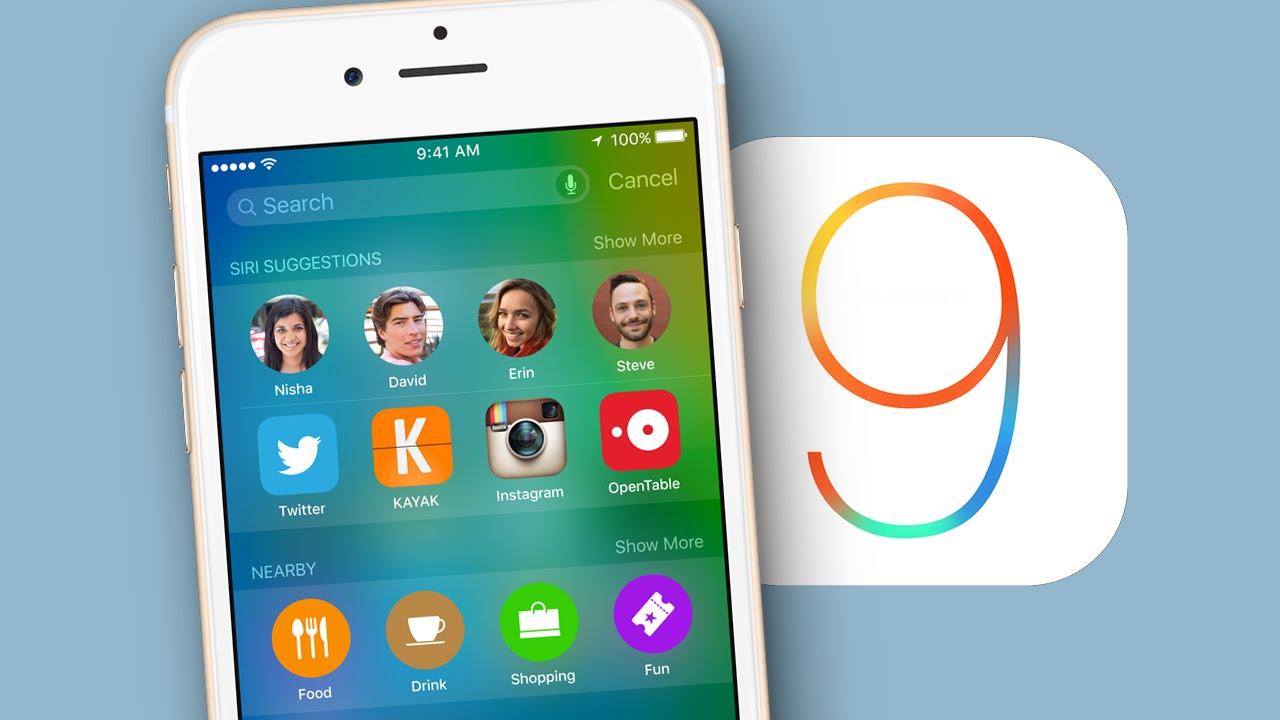 Как загрузить и установить iOS 9 на iPhone и iPad