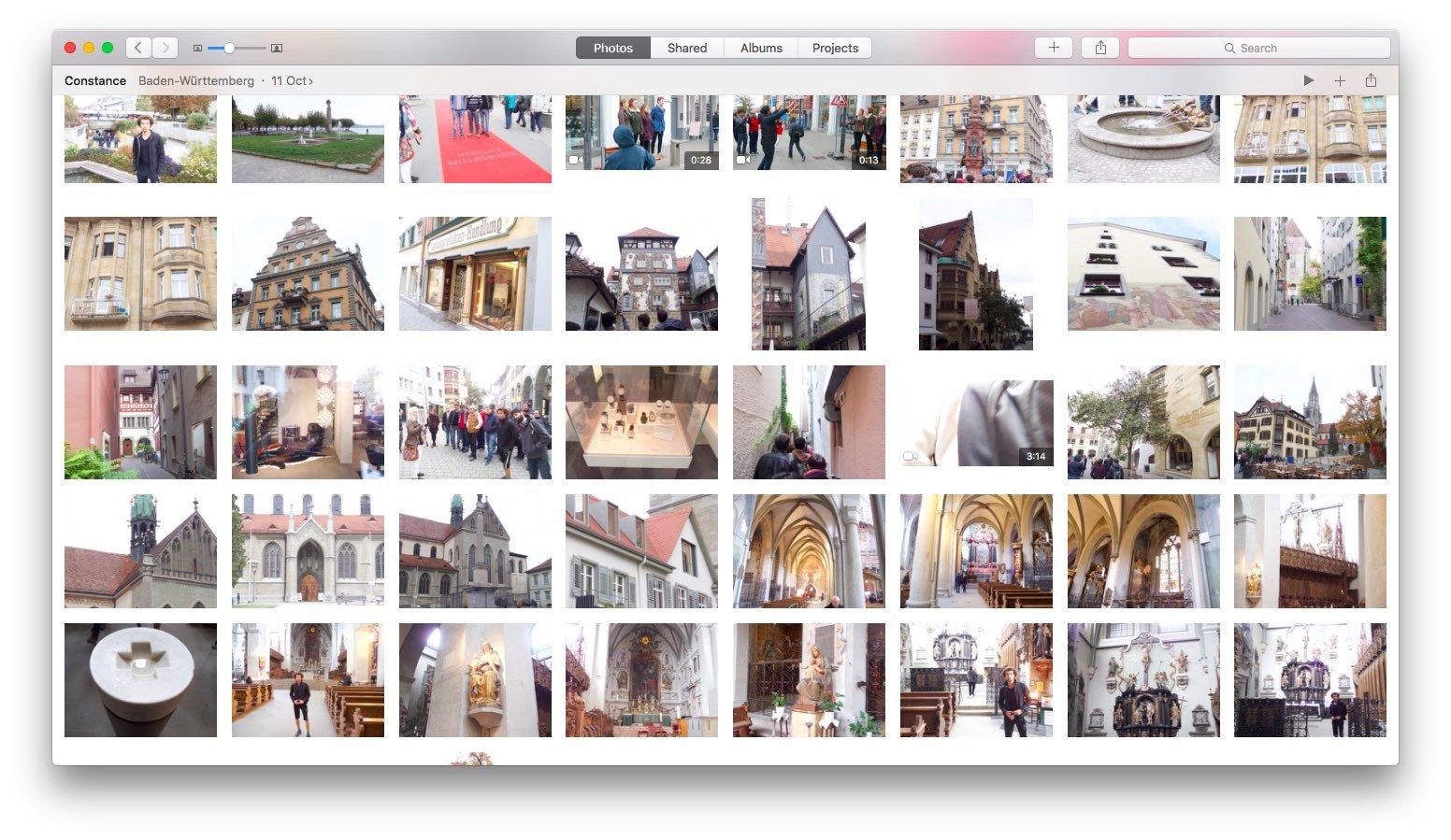 Просмотр фото в Apple Фото