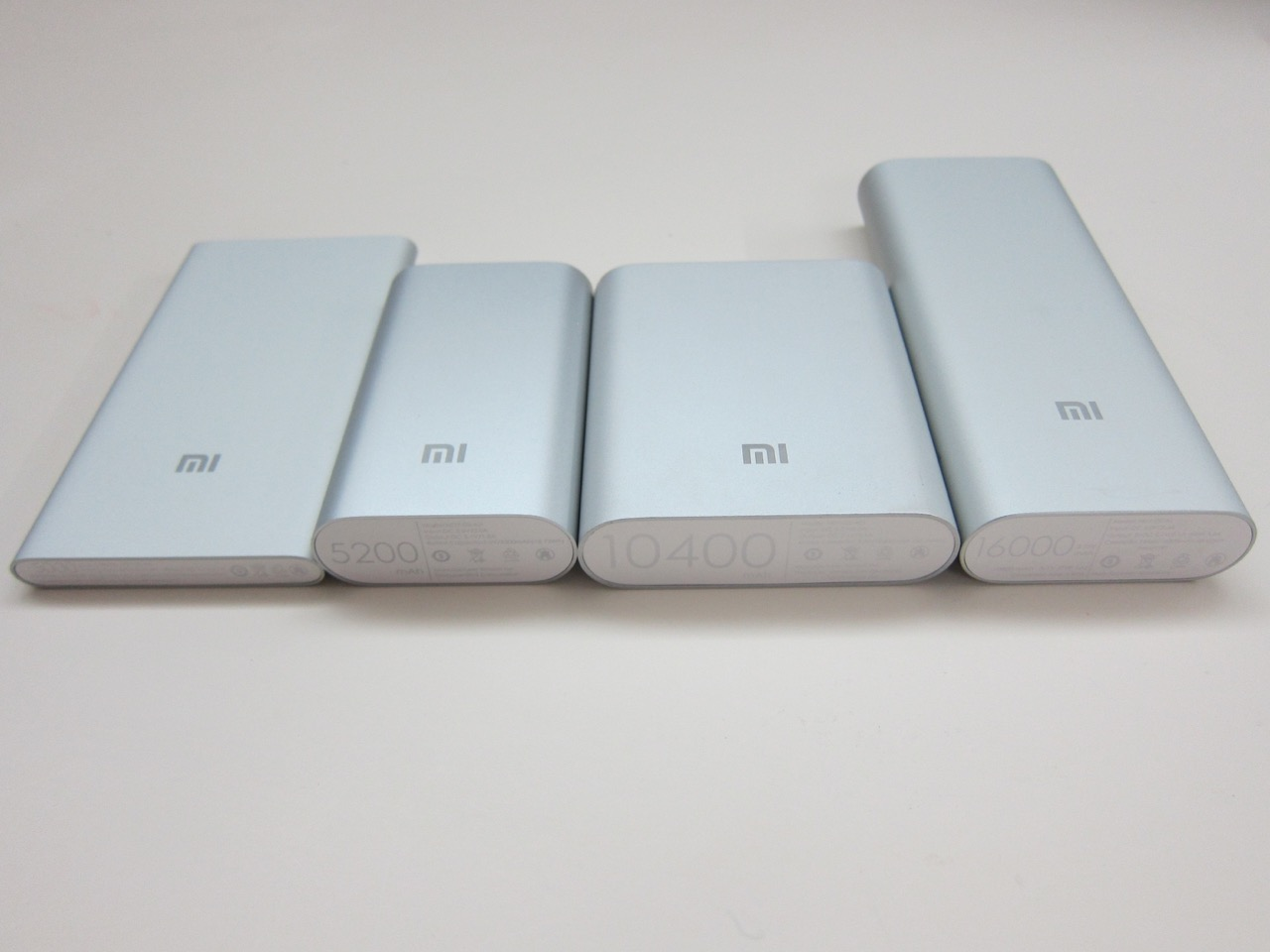 Вся линейка Xiaomi Mi PowerBank