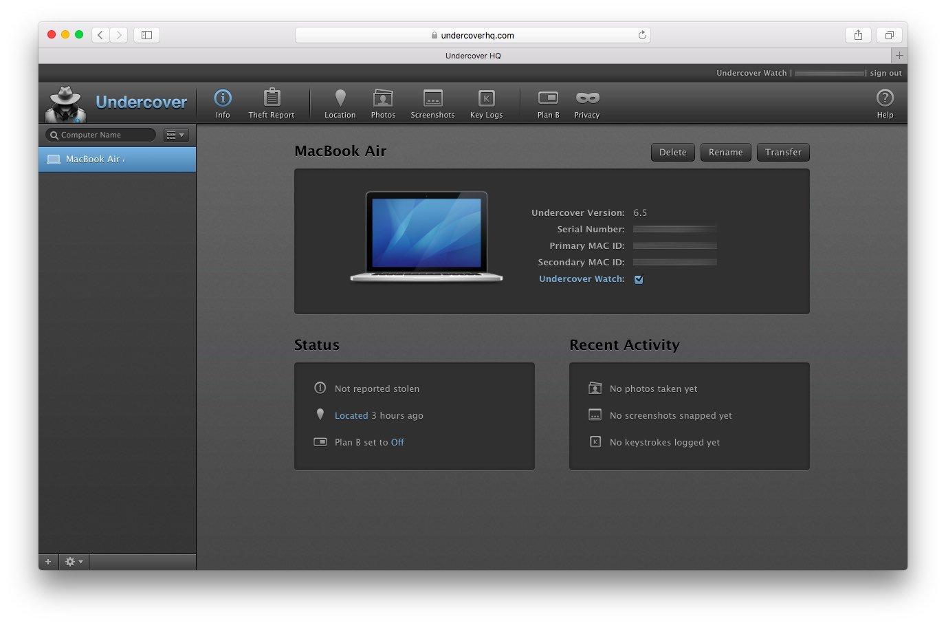 Как сделать mac новым 639