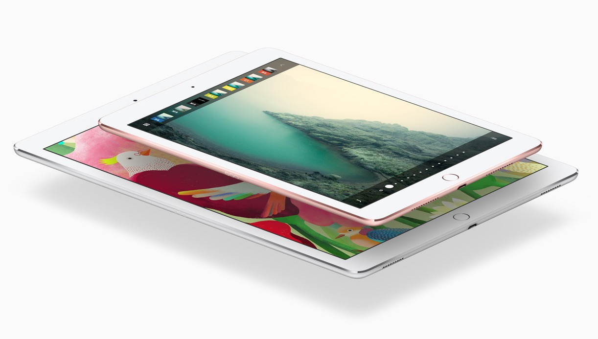 Сравнение 9,7-дюймового и 12-дюймового iPad Pro