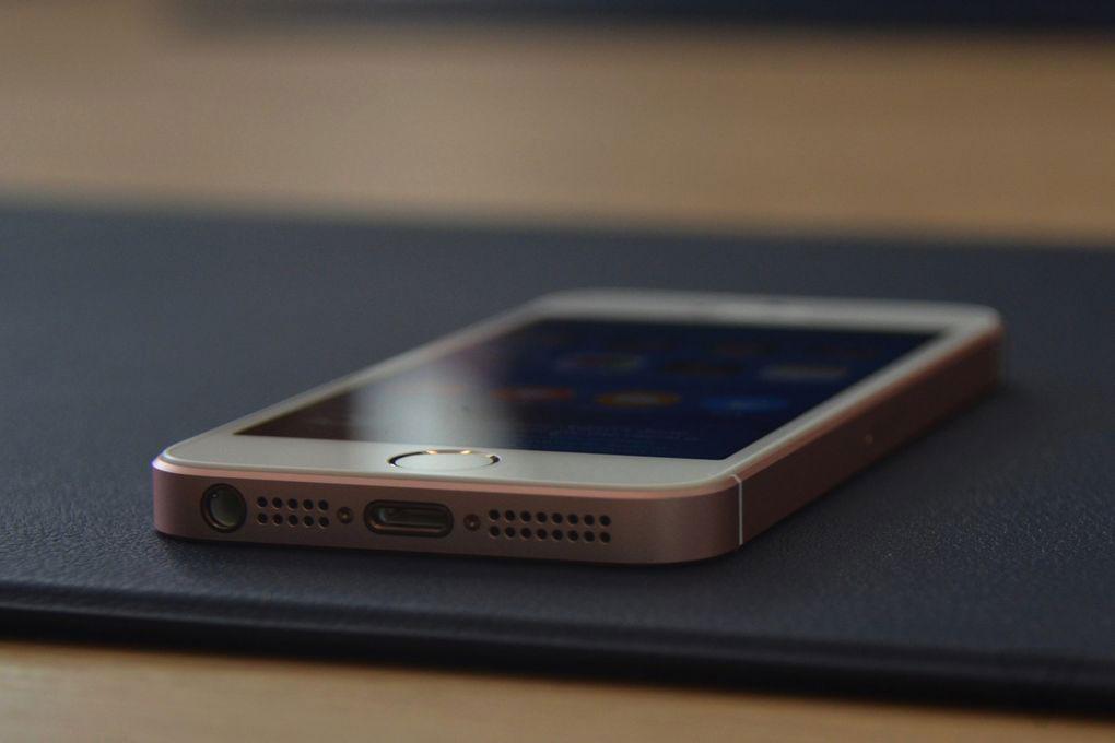 Внешний вид нового iPhone SE