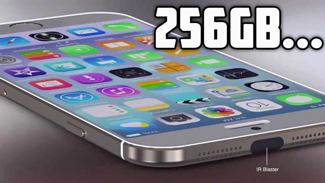 iPhone 7 с 256gb памяти