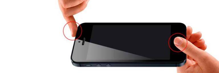 Процедура перезагрузки айфона