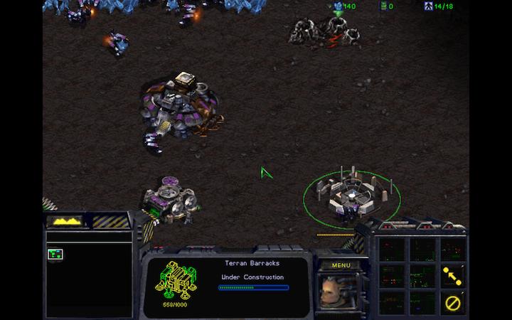 StarCraft Mac начало игры