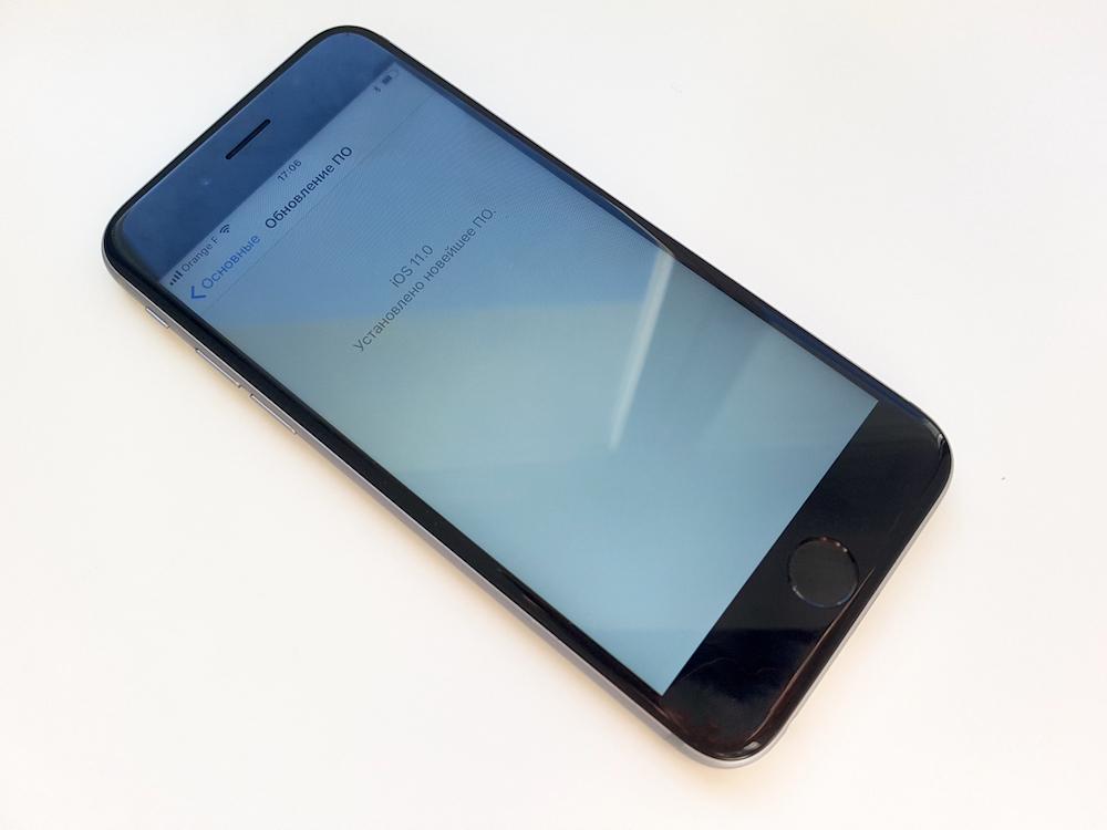 iPhone 6S с iOS 11