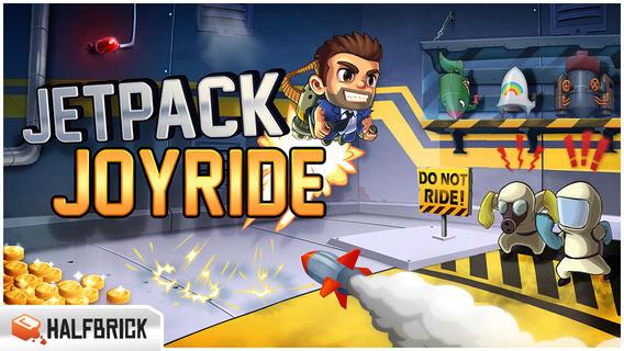 Jetpack Joyride - по проторенной дорожке