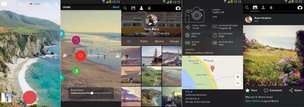 Flickr обновил приложение для смартфонов на базе Android и iOS