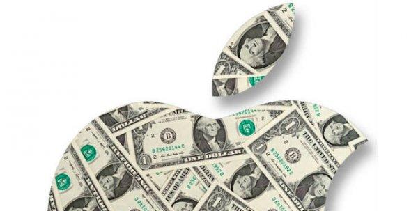Акции Apple поднялись выше $600