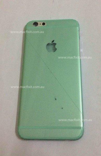 У iPhone 6 может появиться светящийся логотип на задней крышке