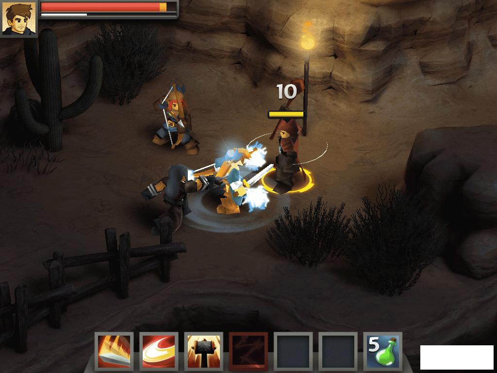 Battleheart Legacy - достойный представитель жанра