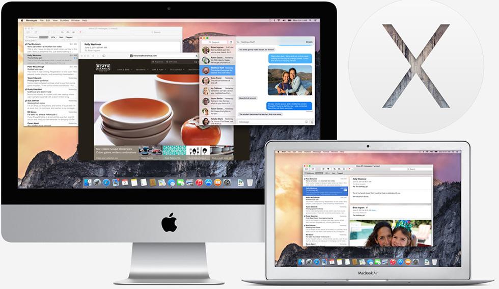 OS X Yosemite на предмет совместимости с Mac