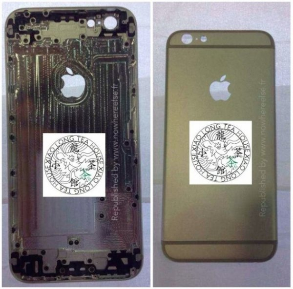 Новые снимки корпуса iPhone 6