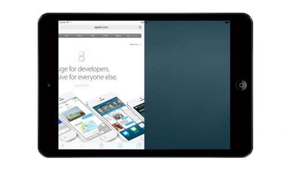Как работает режим разделенного экрана в iOS 8 на iPad (видео)