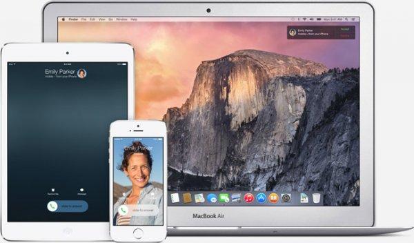 На каких компьютерах Mac будет работать функция Handoff в OS X Yosemite