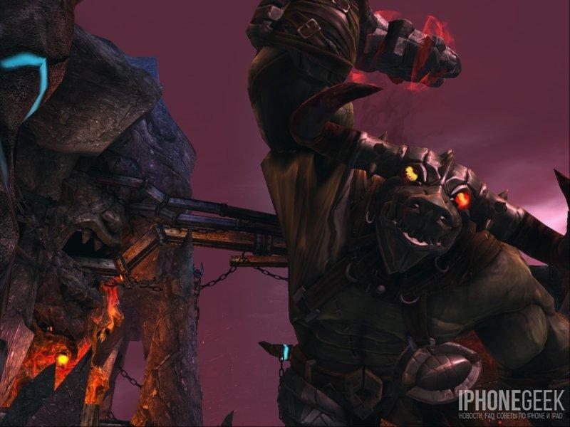 Godfire - схватка с боссом