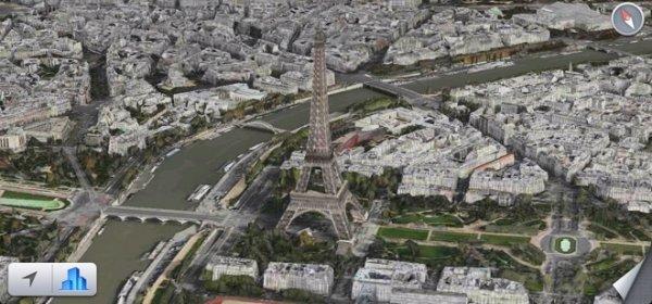 Пролетая над... Карты Apple в iOS 8 предлагают совершить полет над городом