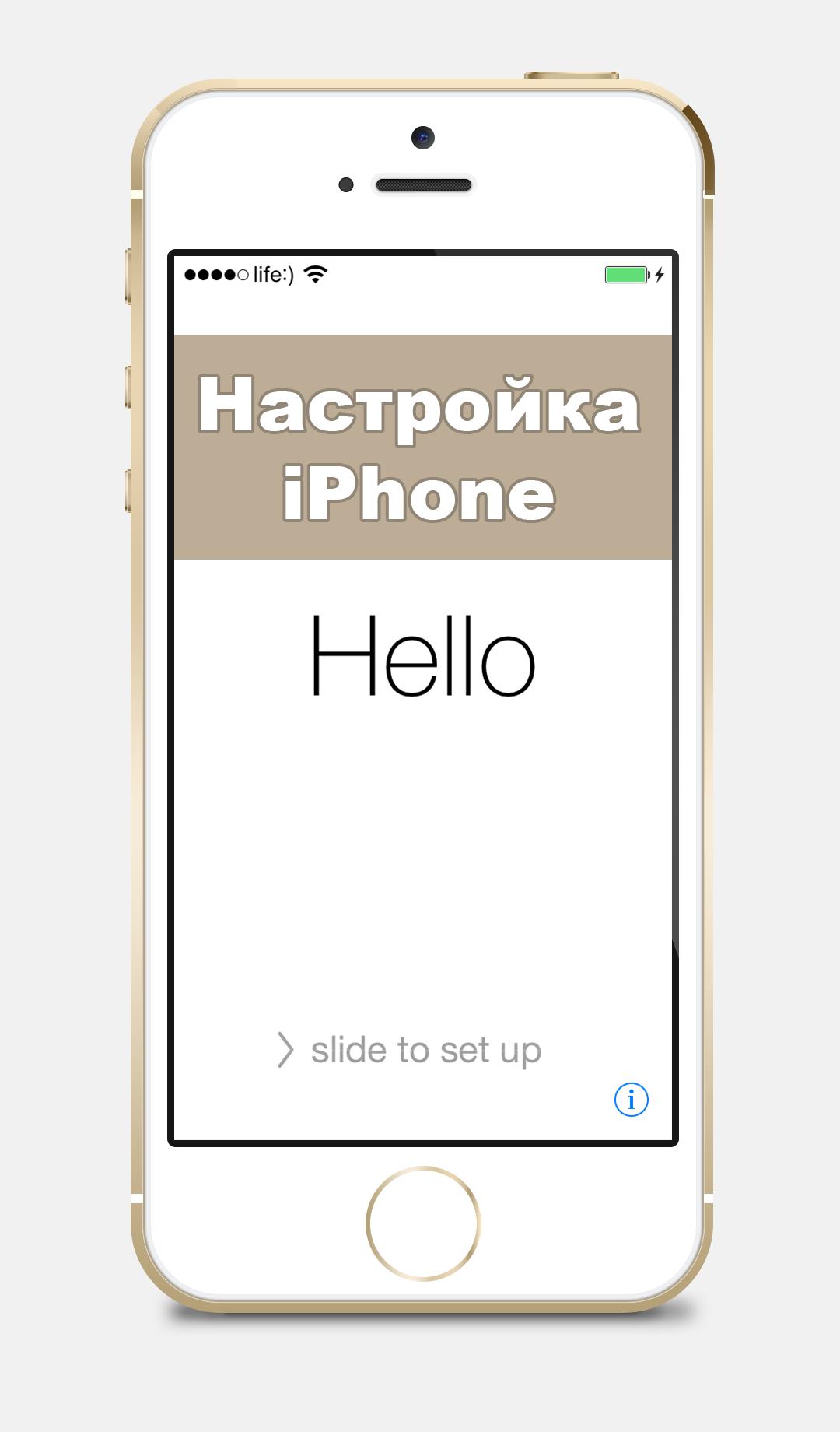 Постер к публикации Настройка iPhone