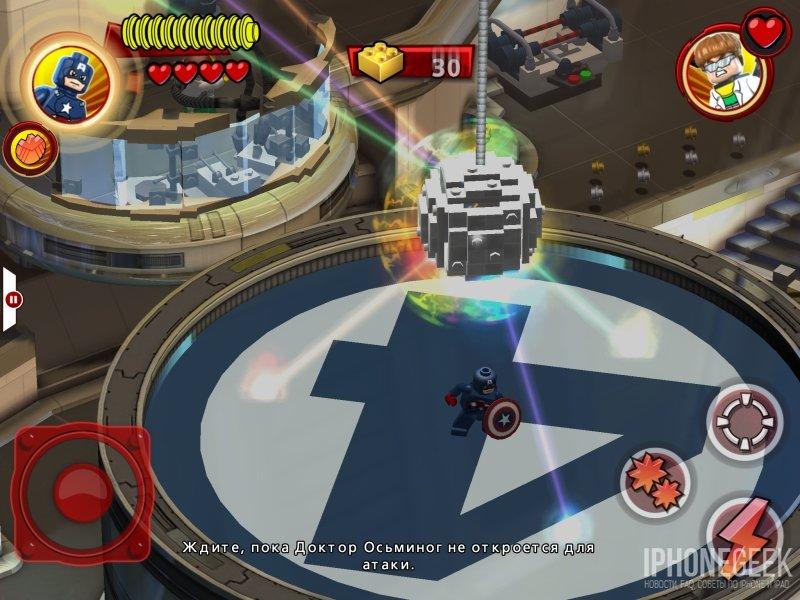 Геймплей LEGO® Marvel™ Super Heroes для iPhone