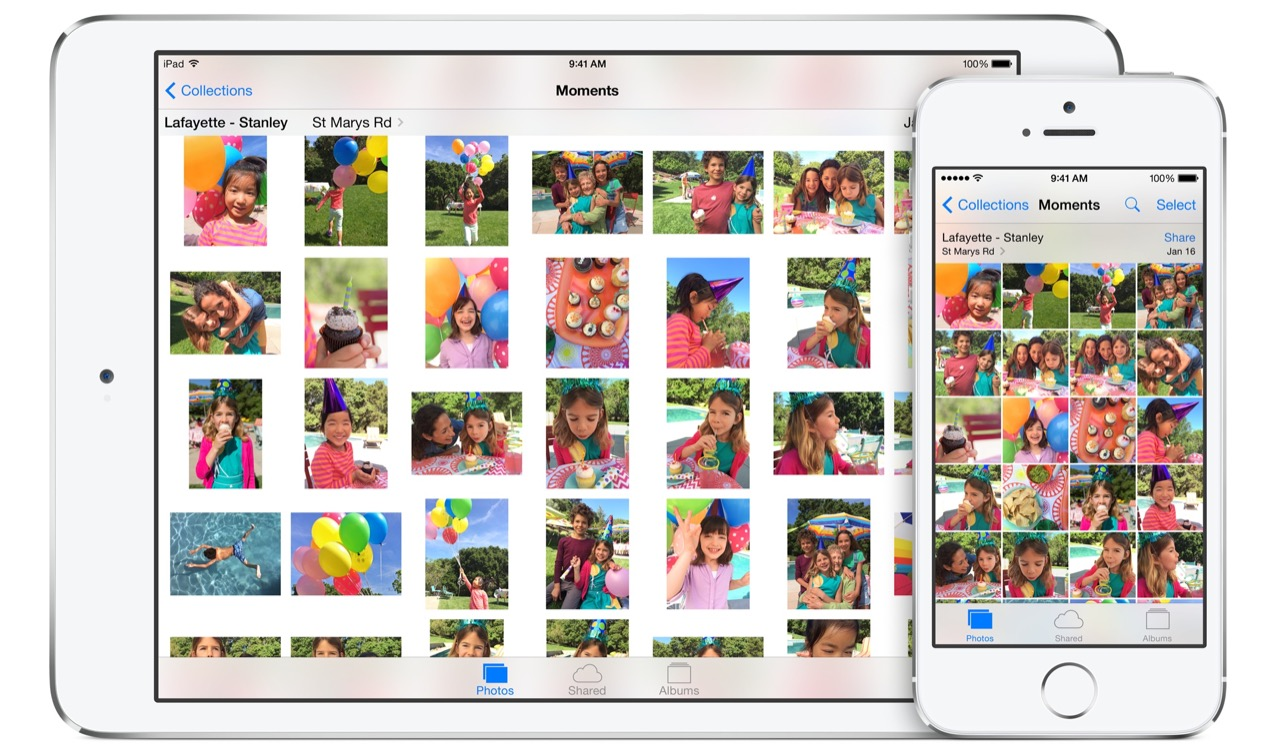 Как скрыть фото в iOS 8