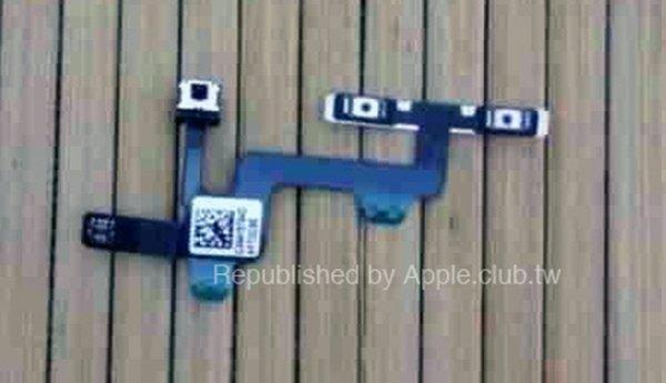 Первые снимки кнопок громкости и блокировки экрана iPhone 6