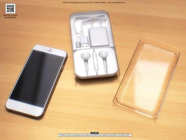 Мартин Хайек представил потрясающие рендеры iPhone 6, его упаковки и комплектных аксессуаров